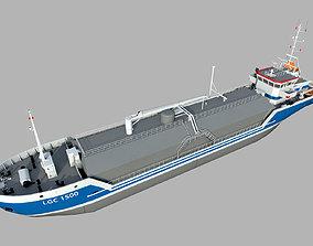 3D model LNG Ship transportation
