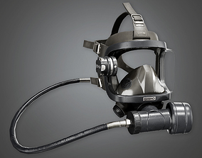 3D asset Military Mask - MLT - PBR Game Ready