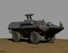 BTR Womag Piranha 3D