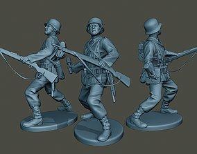 3D printable model German soldier ww2 grenade G1