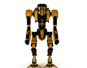 3D asset game-ready robot Robot