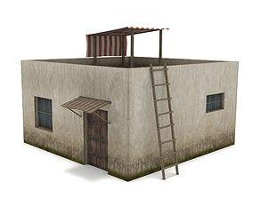 3D asset Arab House - Low Poly