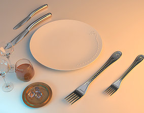 3D tablespoon Dining set