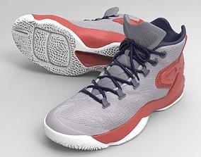 3D printable model Basketball Shoes -Nike-Air-Carmelo 2