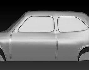 Fiat 127 scale 1-160 3D printable model