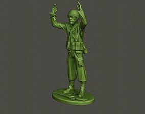 3D print model American soldier ww2 surrender A2