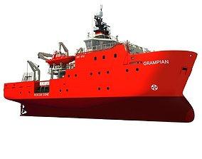 Grampian Defiance Emergency Response Rescue 3D model
