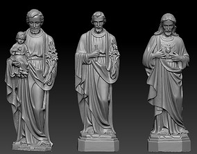 3D printable model Sculptures of Jesus