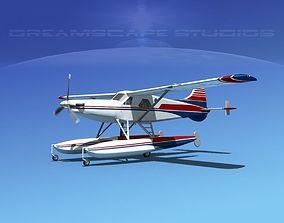 DeHavilland DHC-2 Turbo Beaver V10 3D
