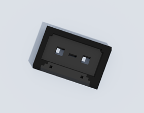 Voxel The Tape 3D asset realtime
