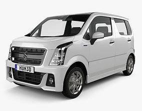 Suzuki Wagon R Stingray Hybrid 2018 3D
