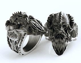 Viking ring man many sizes 3D printable model