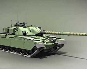 army Chieftain Main Battle Tank England 1959 3D