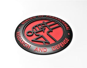 Hellboy badge 3D print model