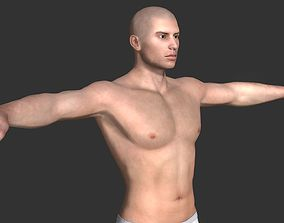 3D Generic Male Base