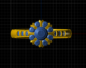 3D print model jewelry ring 23