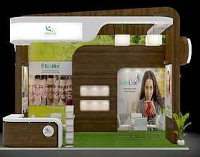 3D model Exhibition stand design 3