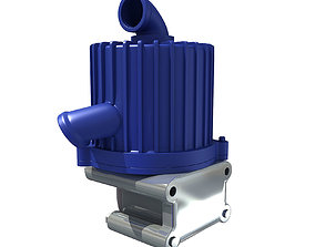 3D Engine Part V29 alternator