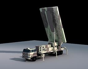Military Radar Vehicle SLC-7 Chinese Radar PLA 3D