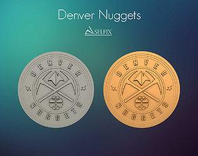 3D printable model Denver Nuggets Logo Relief