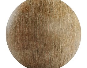 3D Brushed solid eucalyptus wood