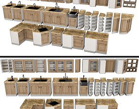 3D model Set for the kitchen