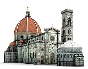 Florence Cathedral 3D model