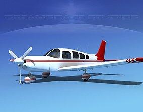 Piper Cherokee Six 260 V06 3D