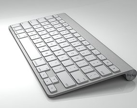 Mac Keyboard maya 3D model