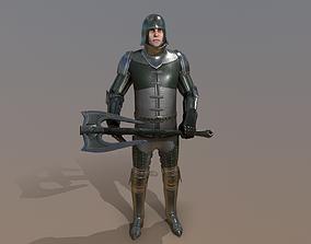 3D asset TAB Medieval Knight - 7C - Skin3