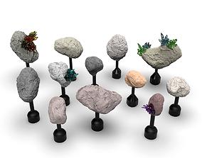 Obstacles Terrain for Battlestar 3D printable model 2