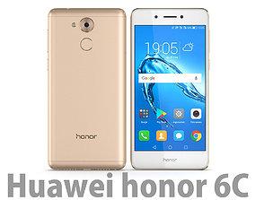 3D model Honor 6C Gold