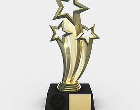 Award Trophy 3D