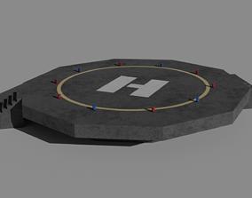 3D model Helipad