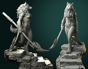 3D print model Oleana the Werewolf Queen