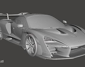 McLaren Senna 3D printable model