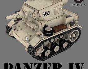 PANZER IV 3D asset realtime