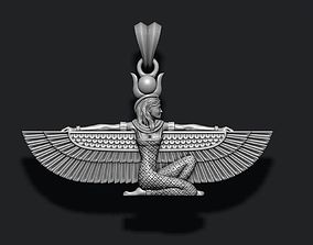 3D print model Isis pendant