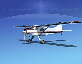 Dehaviland DH-2 Beaver SL09 3D model