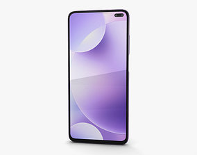 Xiaomi Redmi K30 Purple 3D