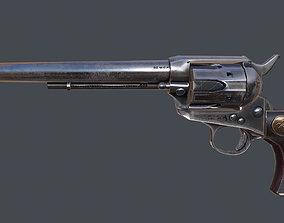 3D model Colt Revolver outdated
