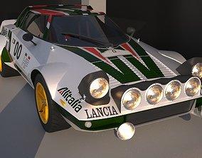 Lancia Stratos 3D