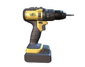 3D PBR Cordless drill fix