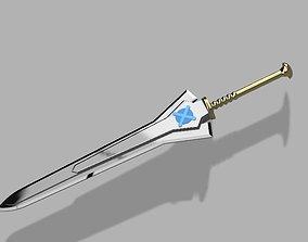3D printable model Monster Hunter Long Sword Replica 3