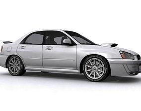 Subaru Impreza WRX STI Spec-C 3D asset