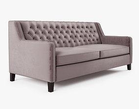 3D asset Sofa Elizabeth de la Vega