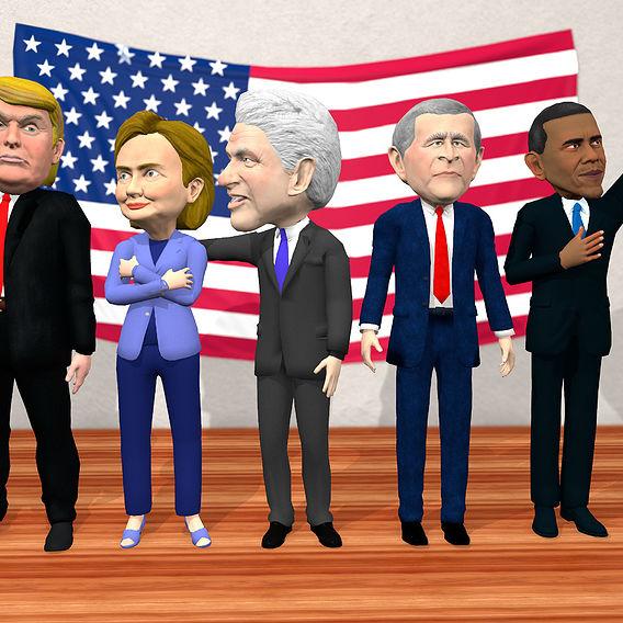 US political caricatures