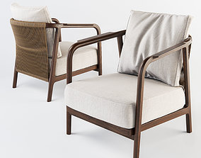 3D Flexform Crono armchair
