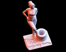 3D printable model Cyberpunk 2077 Panam Palmer Diorama