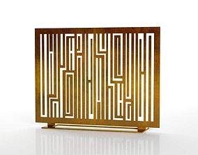 Fireplace Screen Rimbaud 3D model